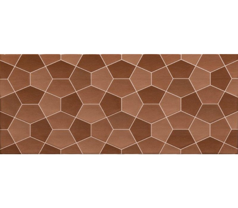 Pentagone / Brown (22.5x60)