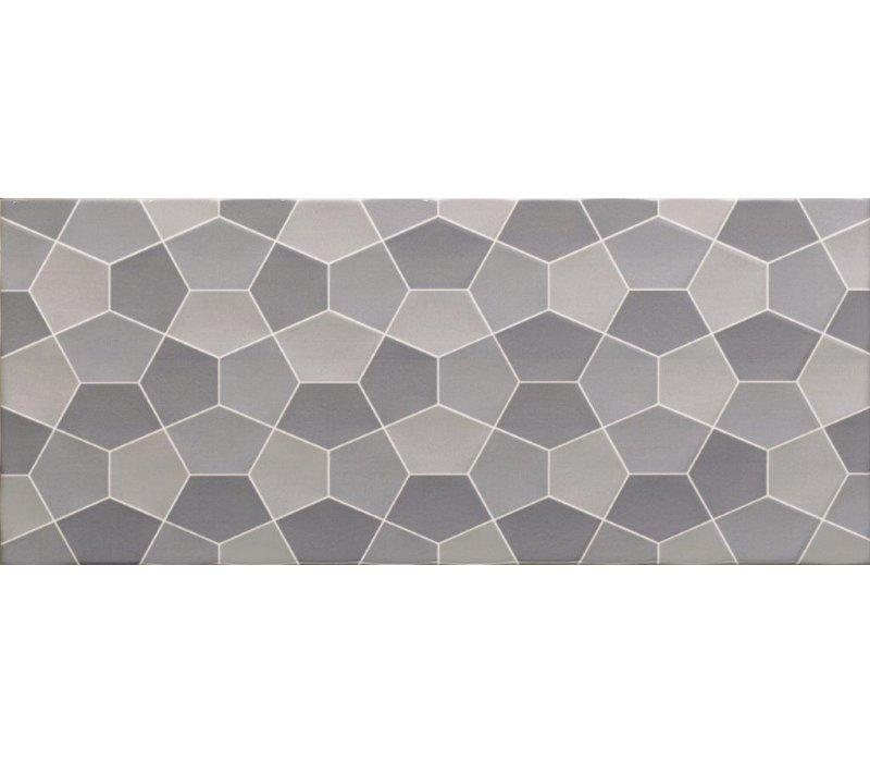 Pentagone / Blue (22.5x60)