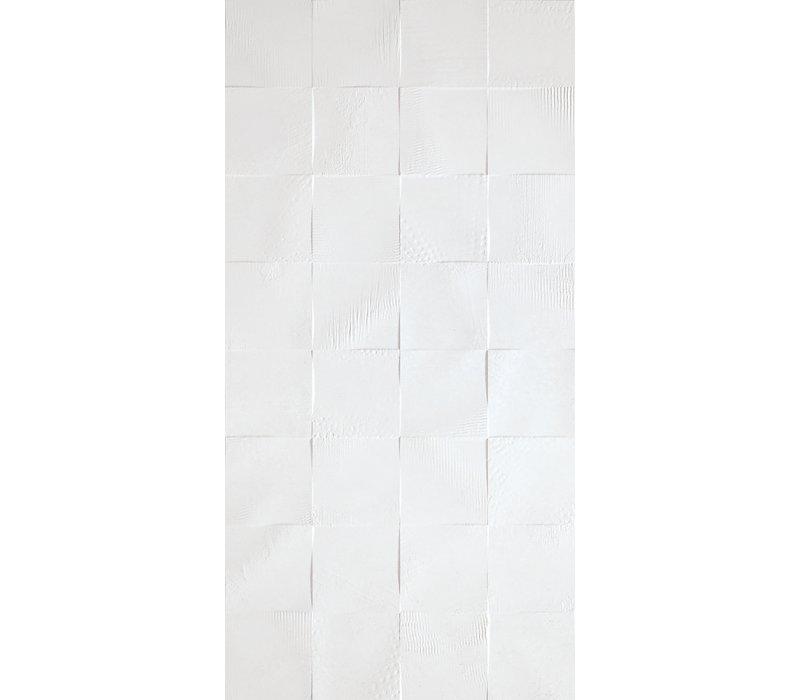 Charlotte / White Relief (45x90)